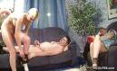 Vater fickt seine Tochter und die Assi Mutter